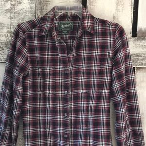 Woolrich 100% Cotton Flannel Shirt sz XS